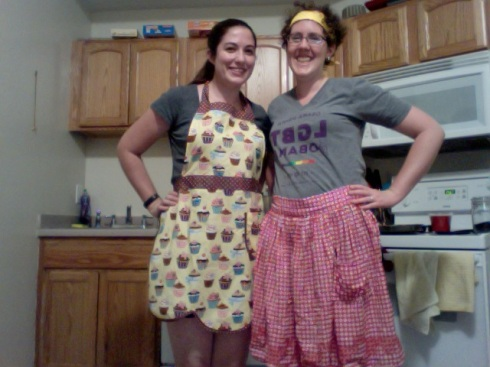 Baking with friends!