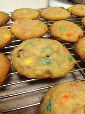 mini m+m cookies